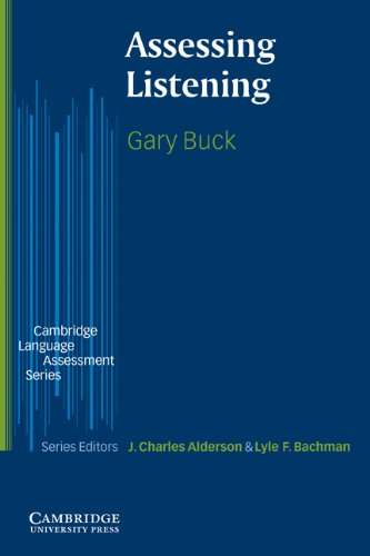 Assessing Listening   2001 9780521666619 Front Cover