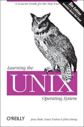 Learning the UNIX Operating System A Concise Guide for the New User 5th 2002 edition cover