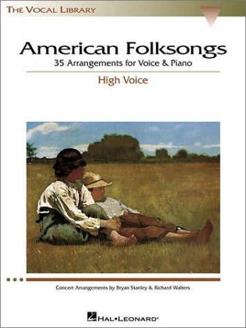 American Folksongs 35 Arrangements for Voice and Piano N/A edition cover