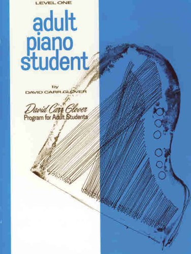 Adult Piano Student   1985 9780769237619 Front Cover