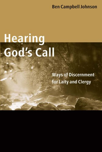 Hearing God's Call Ways of Discernment for Laity and Clergy  2002 edition cover