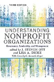 Understanding Nonprofit Organizations: Governance, Leadership, and Management  2015 edition cover
