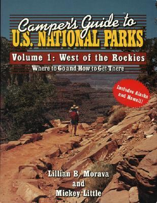 U. S. National Parks West of the Rockies N/A 9780884150619 Front Cover