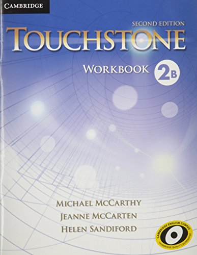 TOUCHSTONE LEVEL 2 WORKBOOK B 2ND EDITION  2nd 2013 9781107618619 Front Cover