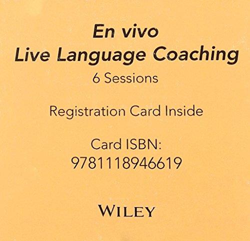 En Vivo for Spanish 6 Session Reg Card   2014 9781118946619 Front Cover