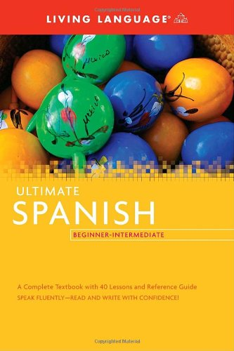 Ultimate Spanish Beginner-Intermediate  Large Type edition cover