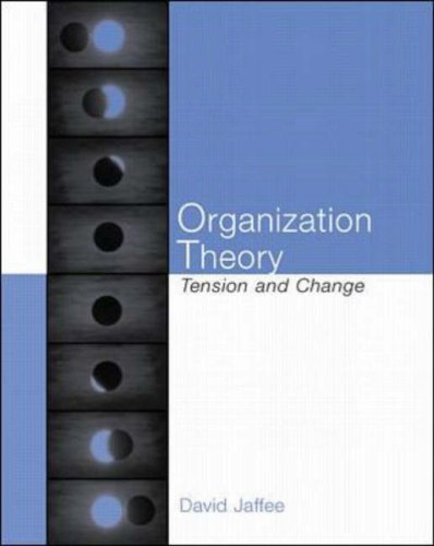 Organization Theory N/A edition cover