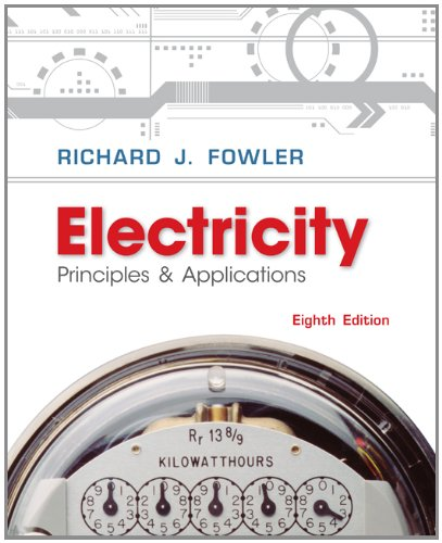Electricity Principles and Applications 8th 2013 edition cover