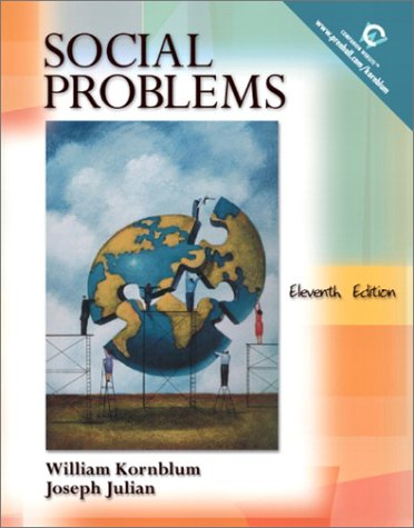 Social Problems  11th 2004 edition cover