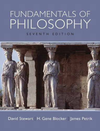 Fundamentals of Philosophy  7th 2010 edition cover