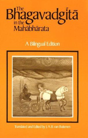 Bhagavadgita in the Mahabharata  N/A edition cover