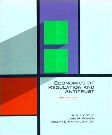 Economics of Regulation and Antitrust 3rd 2000 edition cover