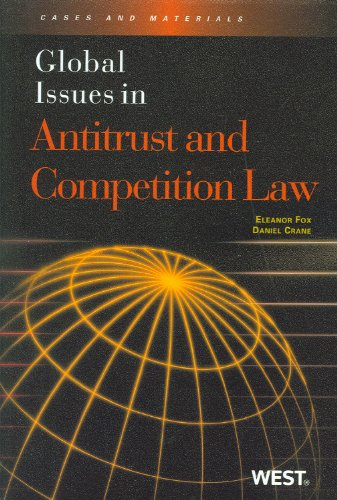 Global Issues in Antitrust and Competition Law   2010 edition cover