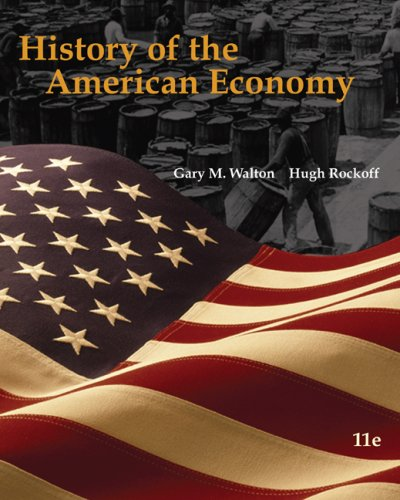 History of the American Economy (with InfoTrac College Edition 2-Semester and Economic Applications Printed Access Card)  11th 2010 edition cover