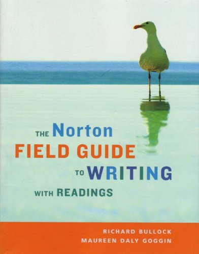 Norton Field Guide to Writing with Readings   2006 edition cover