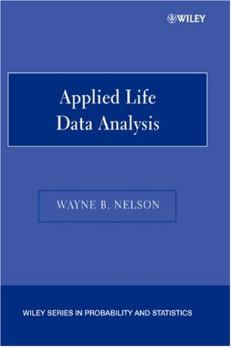 Applied Life Data Analysis   2004 9780471644620 Front Cover