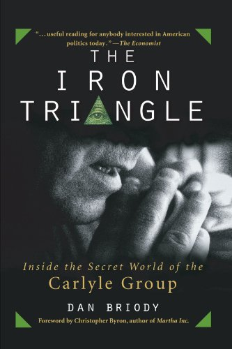 Iron Triangle Inside the Secret World of the Carlyle Group  2003 edition cover