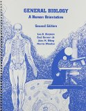 General Biology : A Human Orientation 2nd 2002 9780536633620 Front Cover