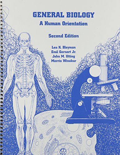 General Biology : A Human Orientation 2nd 2002 edition cover