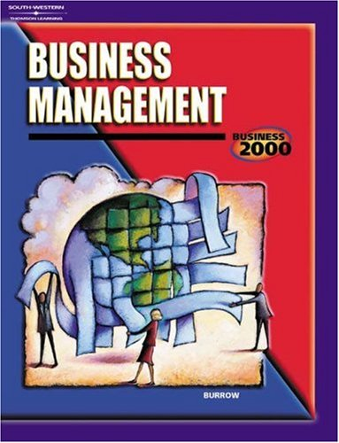 Business Management   2002 9780538431620 Front Cover