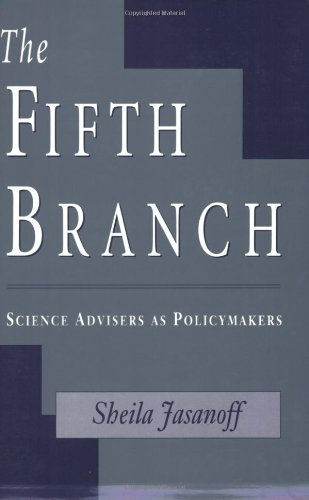 Fifth Branch Science Advisers as Policymakers  1990 edition cover