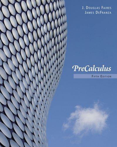 Precalculus  5th 2012 edition cover