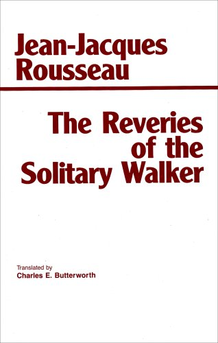 Reveries of the Solitary Walker  Reprint  edition cover