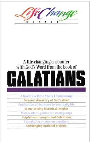 Galatians  N/A 9780891095620 Front Cover
