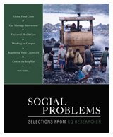 Social Problems Selections from CQ Researcher  2010 9781412978620 Front Cover
