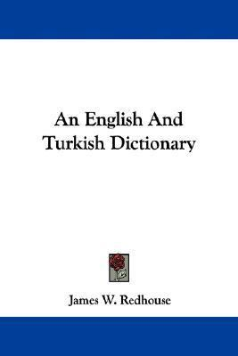 English and Turkish Dictionary  N/A edition cover