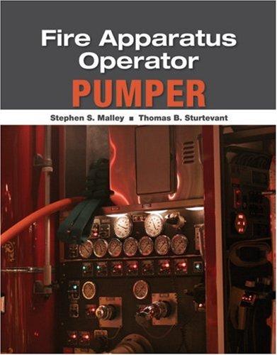Fire Apparatus Operator Pumper 3rd 2012 edition cover