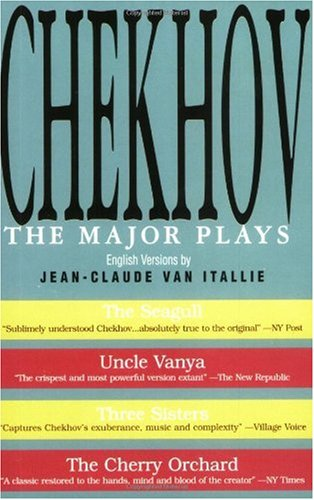Chekhov The Major Plays  1995 (Annotated) edition cover