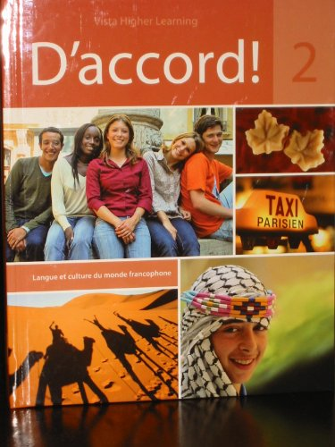 D'Accord!, Level 2  Student Manual, Study Guide, etc. edition cover