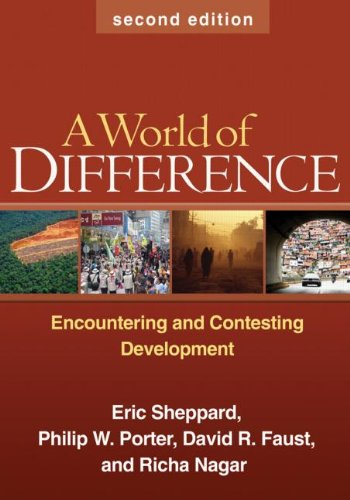 World of Difference Encountering and Contesting Development 2nd 2009 (Revised) edition cover