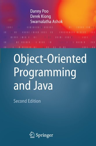 Object-Oriented Programming and Java  2nd 2008 (Revised) edition cover