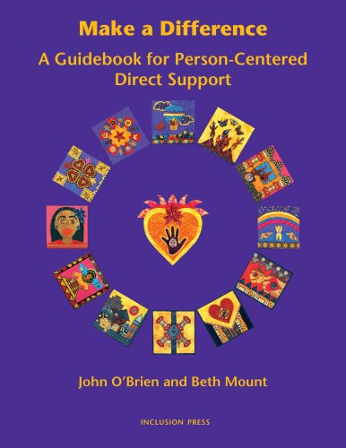 Make a Difference : A Guidebook for Person-Centred Direct Support  2005 edition cover