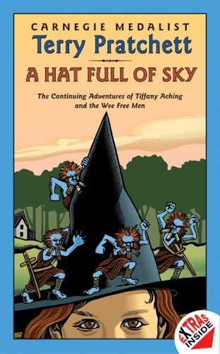Hat Full of Sky   2004 edition cover