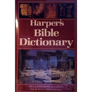 Harper's Bible Dictionary 1st 1985 9780060698621 Front Cover