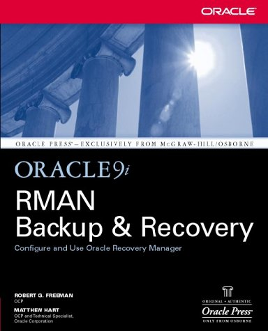 Oracle9i RMAN Backup and Recovery   2003 9780072226621 Front Cover