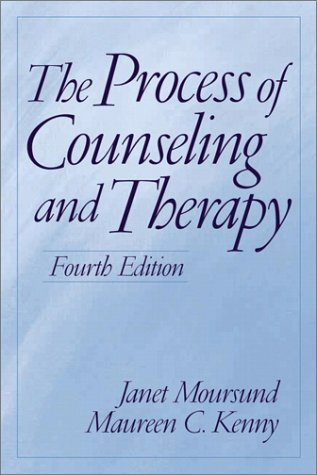 Process of Counseling and Therapy  4th 2002 edition cover