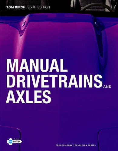 Manual Drivetrains and Axles  6th 2012 (Revised) edition cover