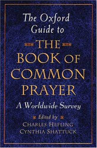 Book of Common Prayer A Worldwide Survey  2008 edition cover