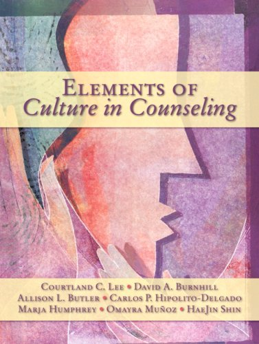 Elements of Culture in Counseling   2009 edition cover