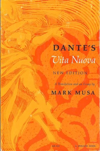 Dante's Vita Nuova A Translation and an Essay 2nd 1973 edition cover