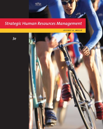 Strategic Human Resource Management  3rd 2011 edition cover