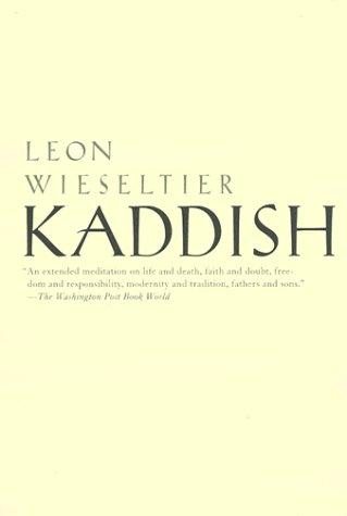 Kaddish  N/A edition cover