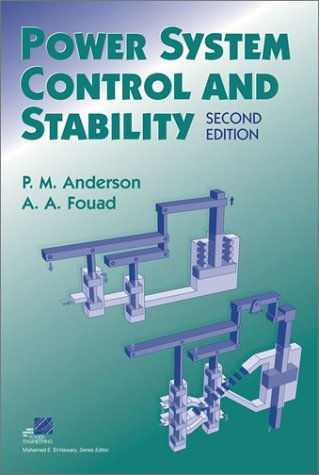 Power System Control and Stability  2nd 2003 (Revised) edition cover