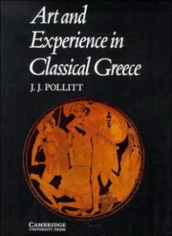 Art and Experience in Classical Greece   1972 edition cover