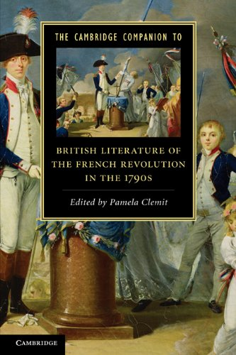 Cambridge Companion to British Literature of the French Revolution in the 1790s   2011 9780521731621 Front Cover
