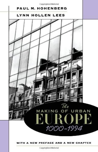 Making of Urban Europe, 1000-1950  2nd 1995 (Revised) edition cover